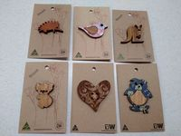 Buttonworks brooches