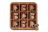 Buttonworks wooden Kangaroo and Koala puzzle